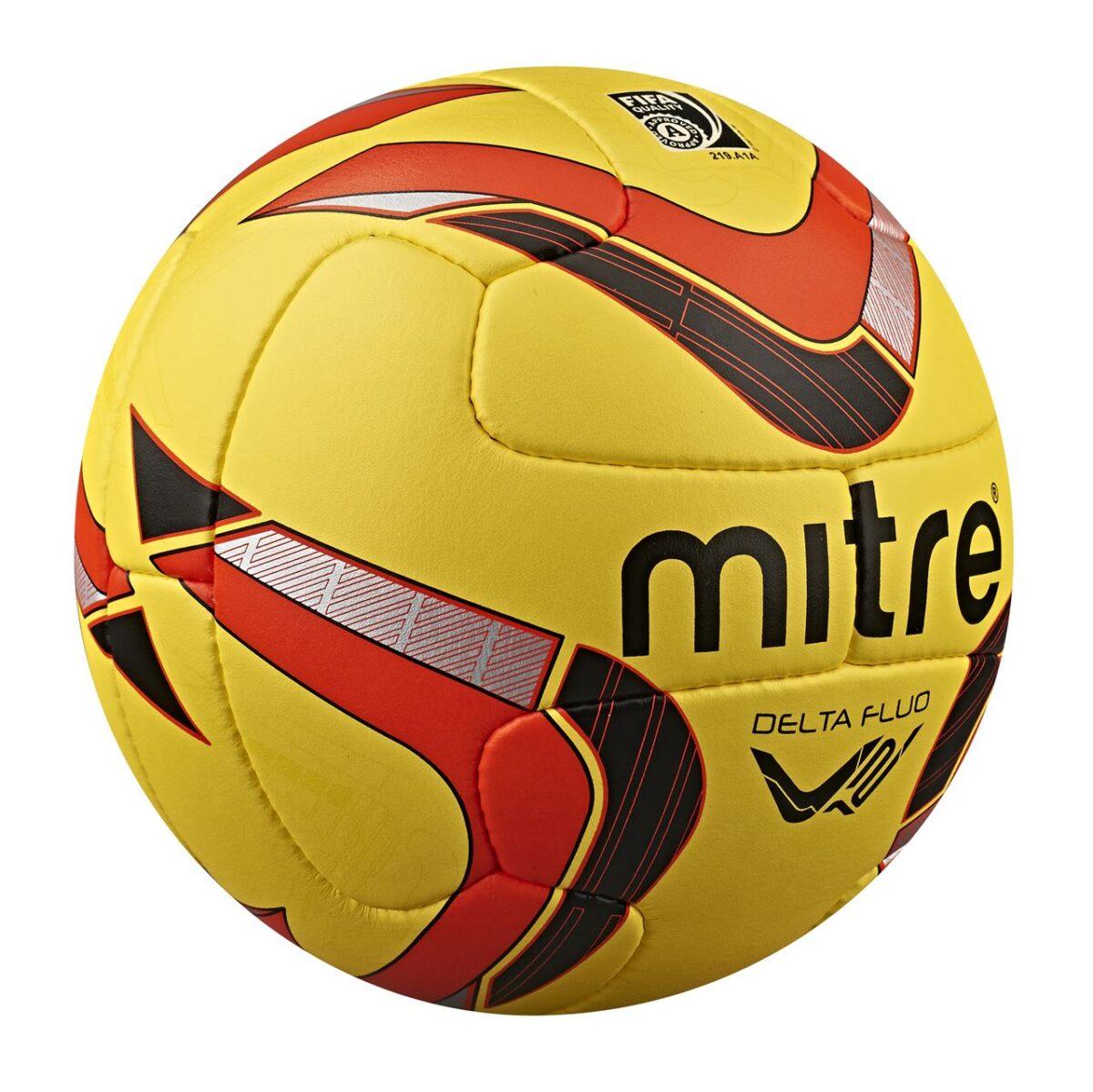 Mitre Delta V12 Fluo Professional Match Football