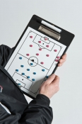 TR812 Precision Training Reversible Soccer Coach Clipboard