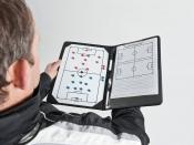 TR811 Precision Training Pro Soccer Coaches Tactic Folder