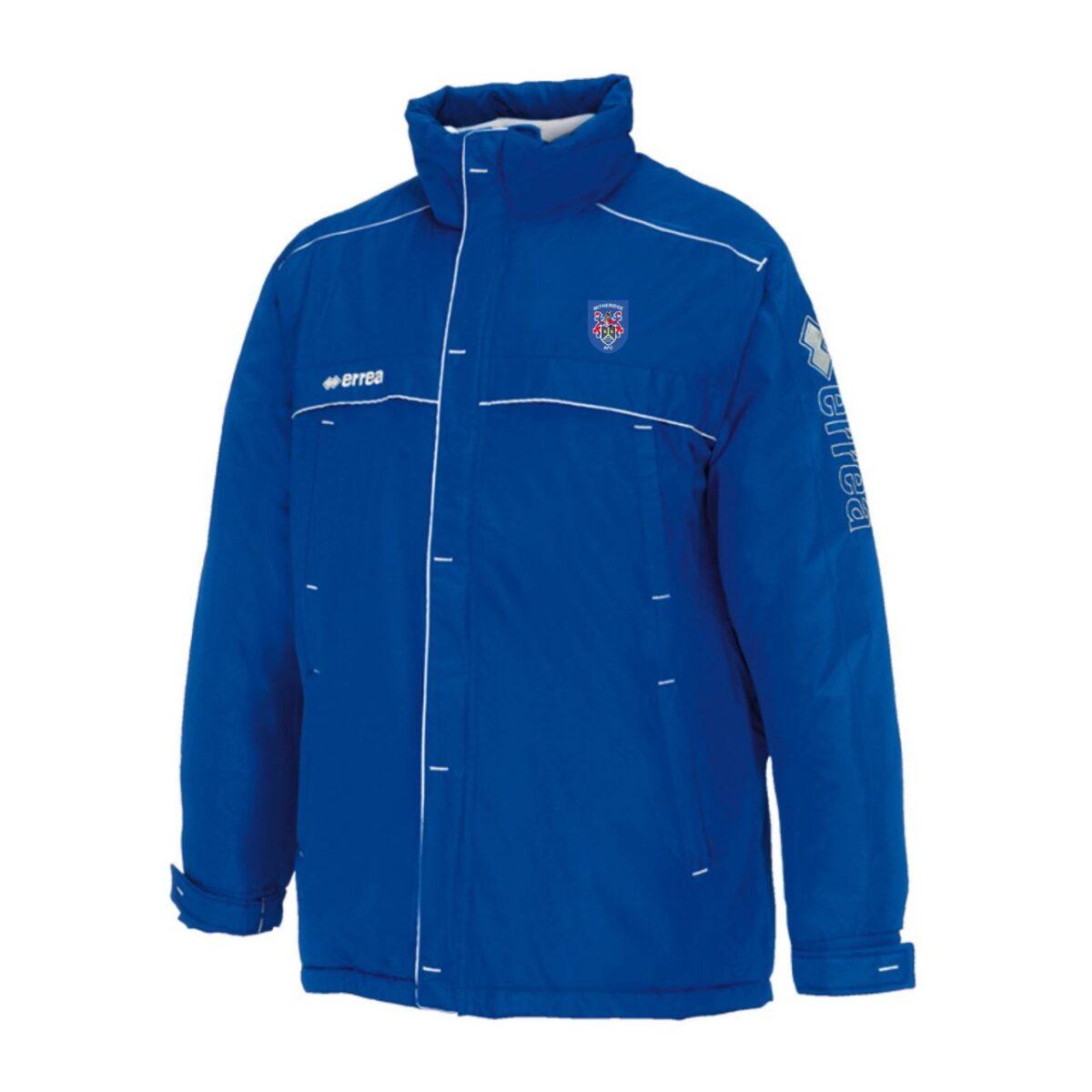 Witheridge Football Club Winter Coat - Royal