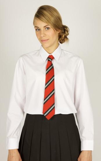 Short Sleeve Easycare Polycotton Girls Blouses