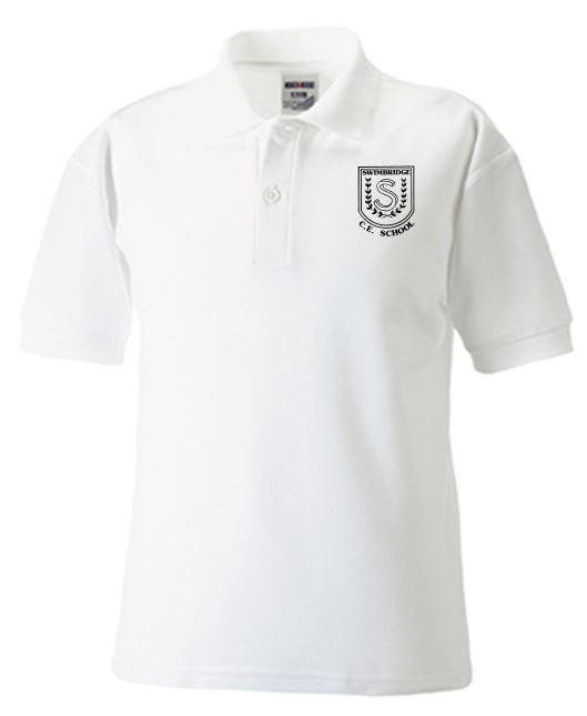 Swimbridge Primary School White Polo Shirt