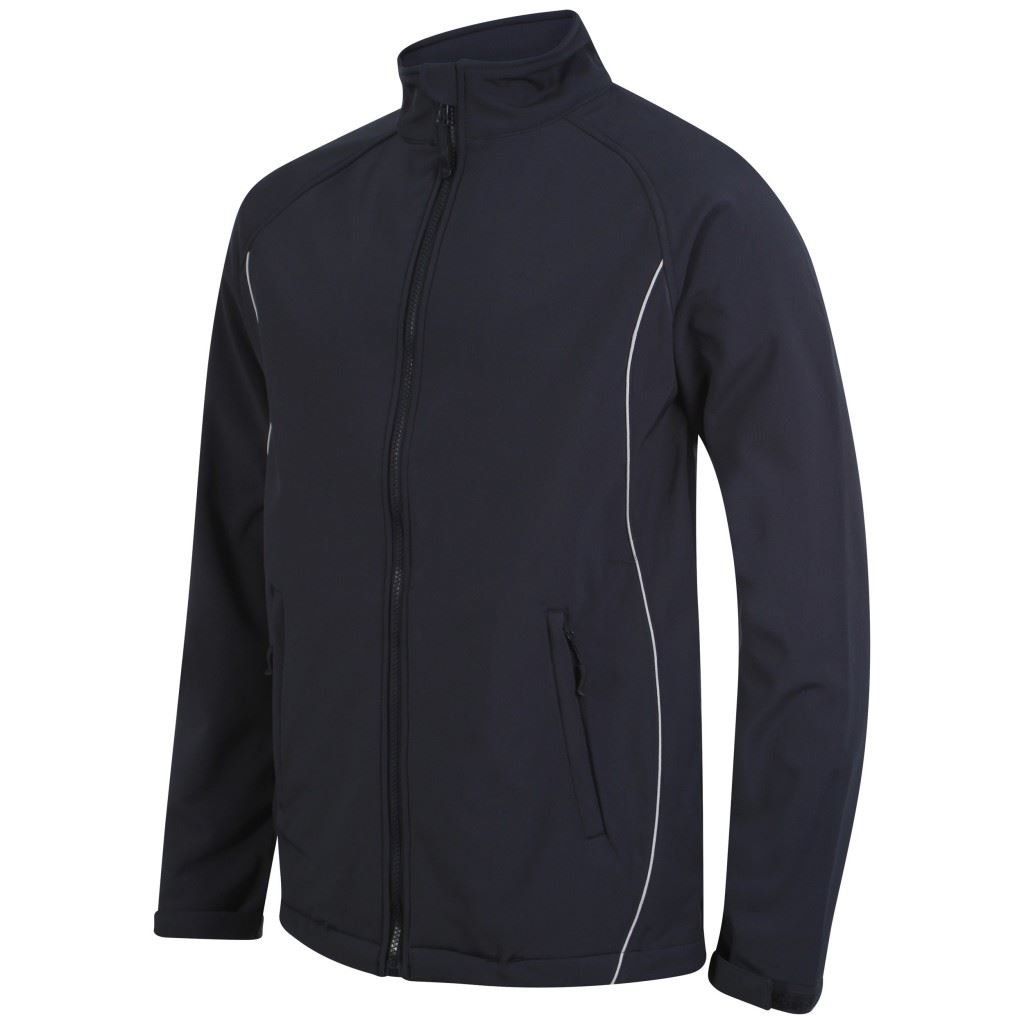 High Quality Junior Unbranded Technical 3 Layer Soft Shell Jacket