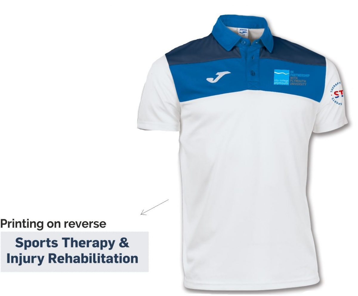 Sports Therapy & Injury Rehabilitation Polo Shirt