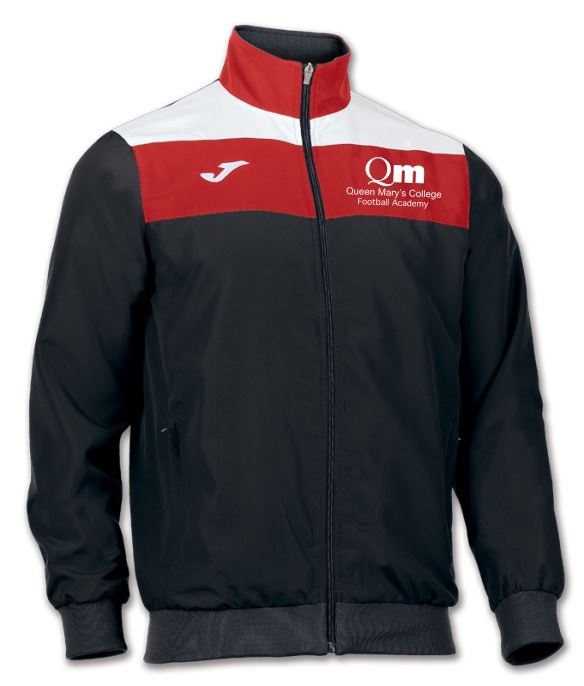 Crew Tricot Jacket - Queen Mary's College Football Academy