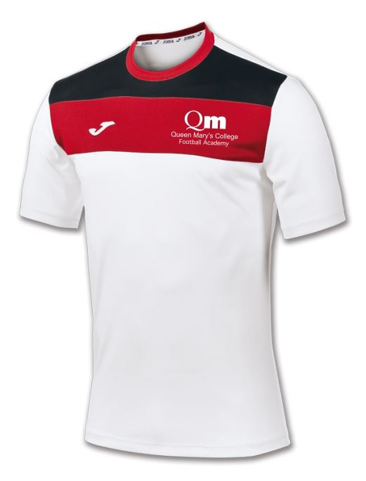 Crew S/S Tshirt - Queen Mary's College Football Academy