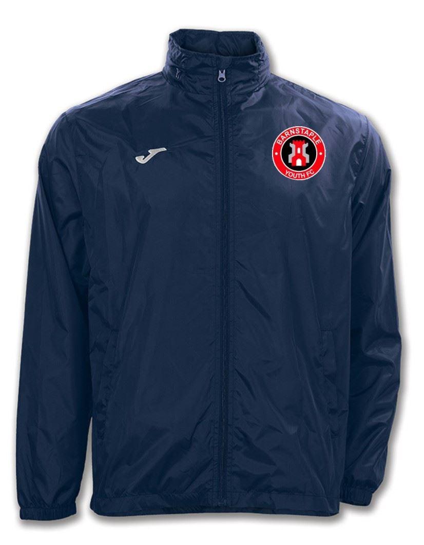 Barnstaple Youth Coaches Adult Rain Jacket