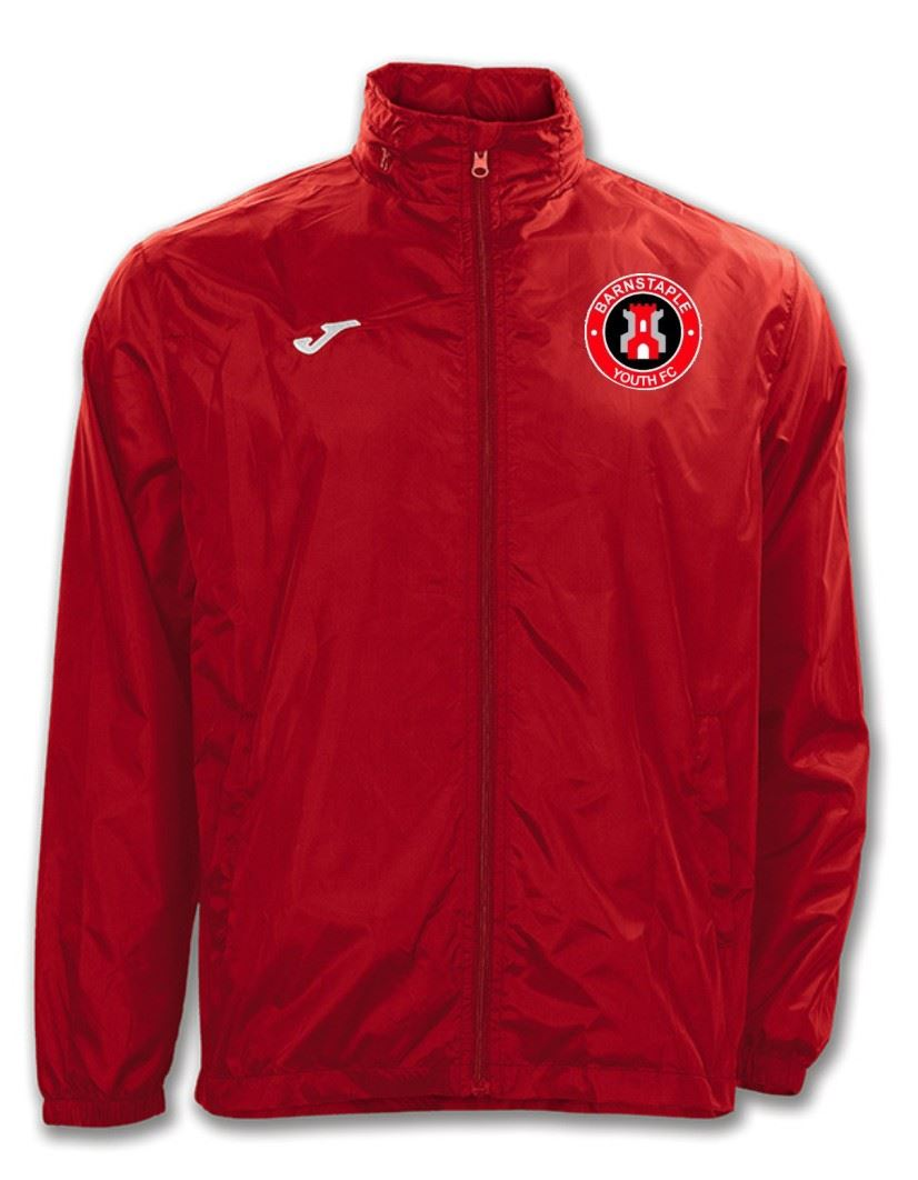 Barnstaple Youth FC Adult Rain Jacket
