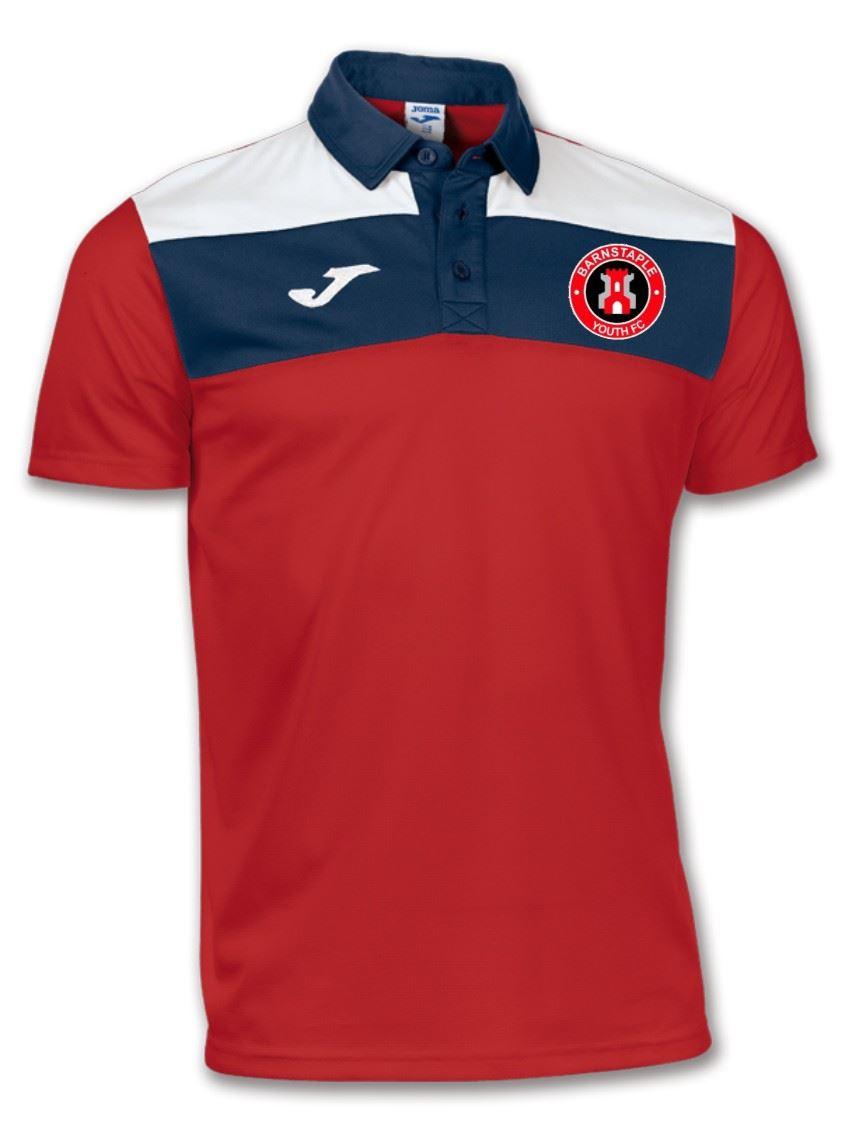 Barnstaple Youth FC Junior Polo Shirt