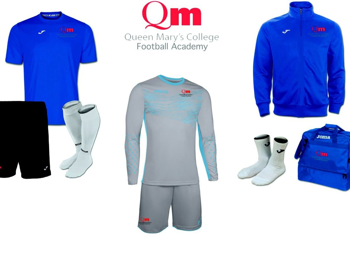 Queen Mary's Football Academy Goalkeeper Pack