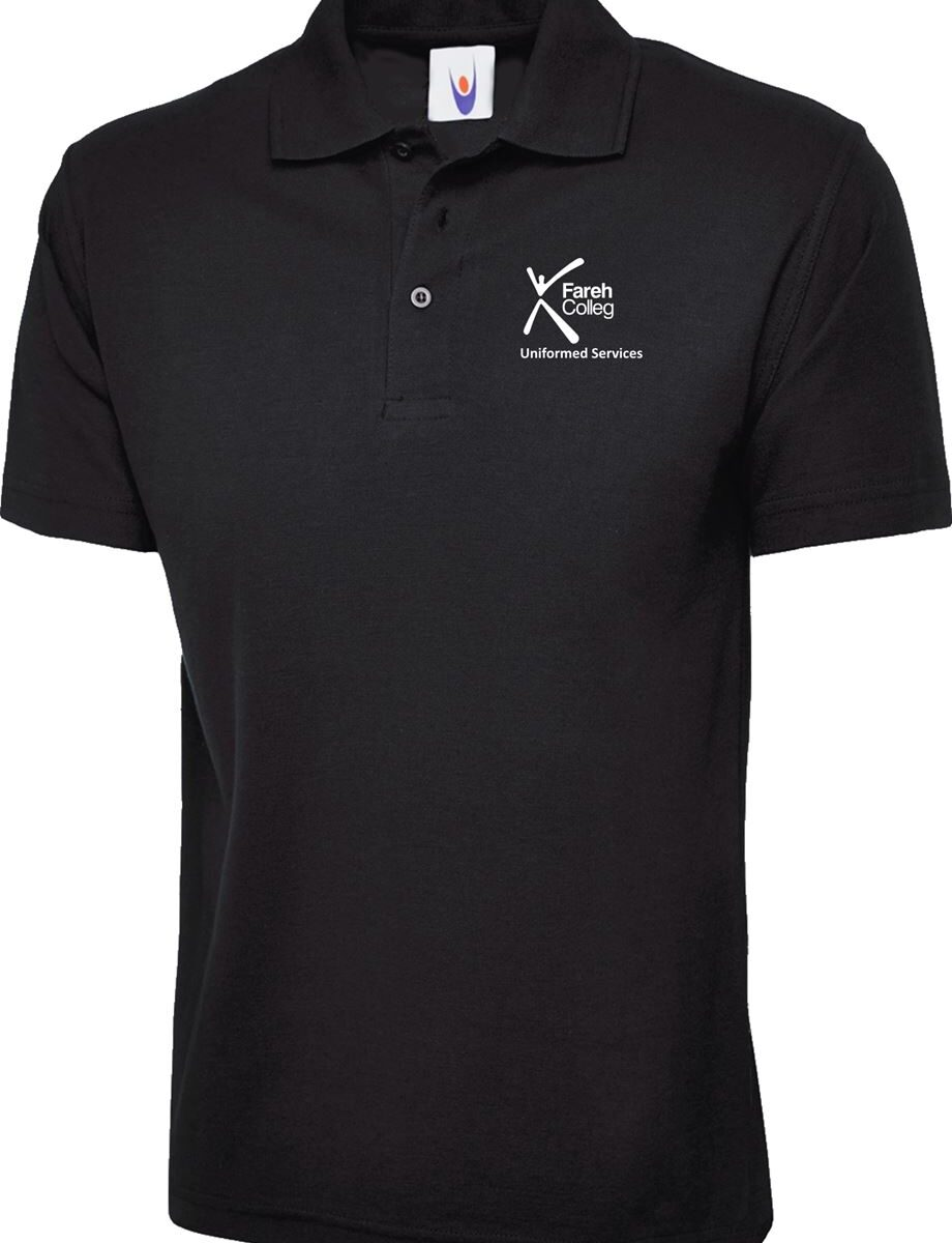 Fareham College Uniform Services Polo Shirt