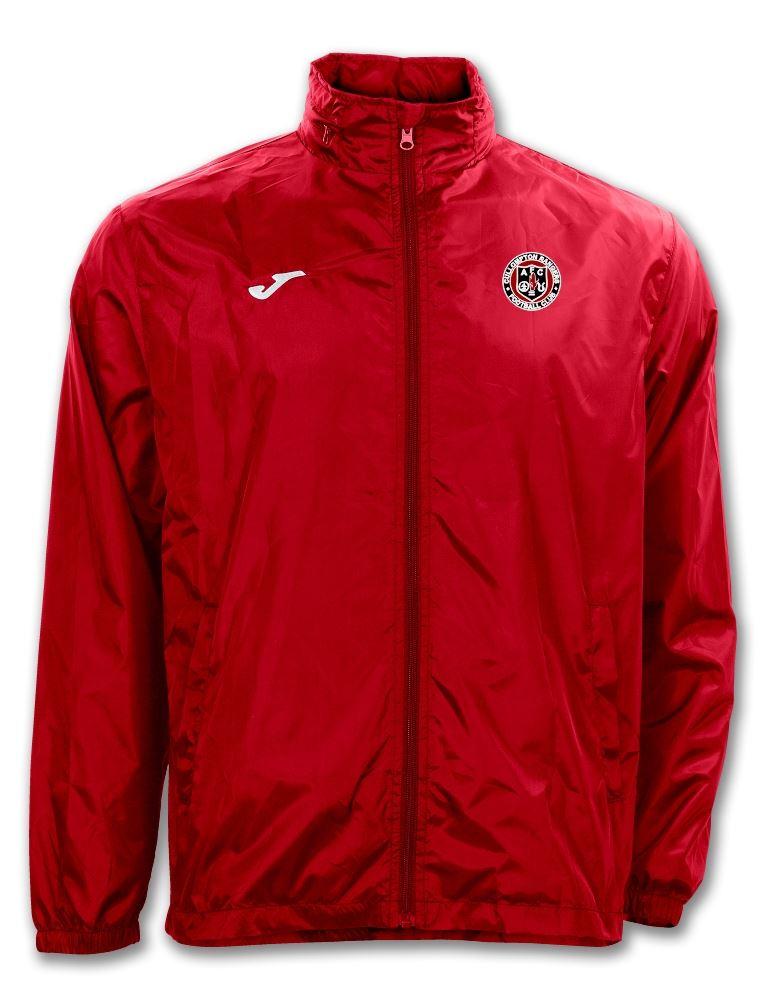 Cullompton Rangers Youth FC Iris Rain Jacket Red 100087.600 - Junior Sizes