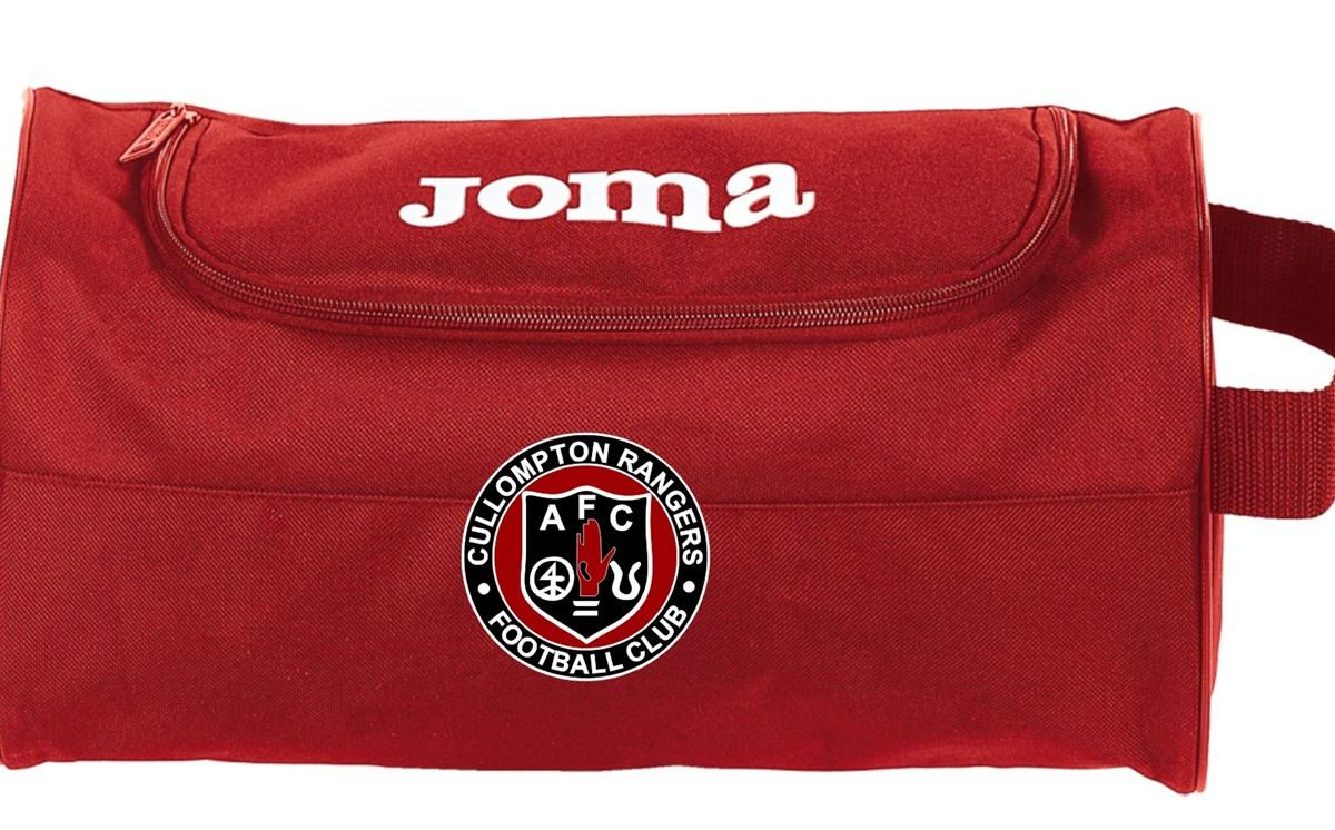 Cullompton Rangers Youth FC Shoe Bag - 400001.600 - red