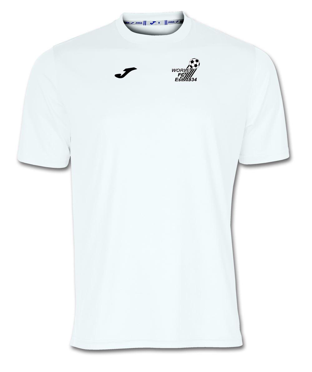 Worle FC White Combi T Shirt