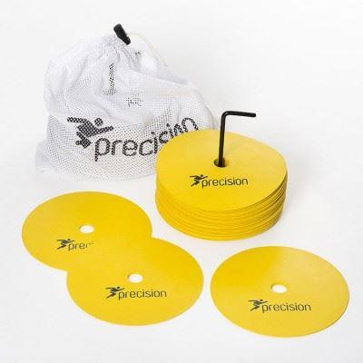 Precision Flat Rubber Marker Discs