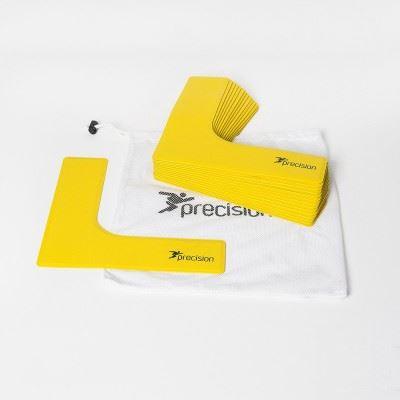 Precision L-Shaped Rubber Markers