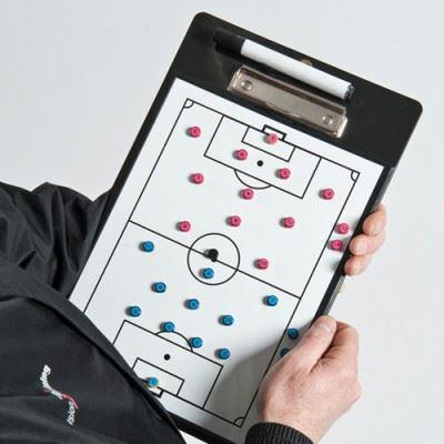 Precision Reversible Soccer Coach Clip Board