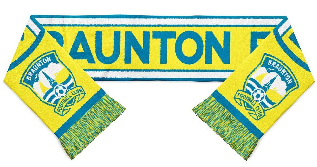 Braunton FC Scarf