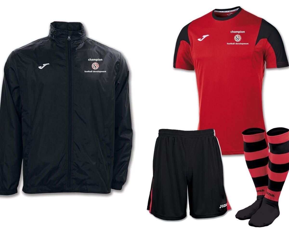 Champion Football Development Pack - Adult Sizes