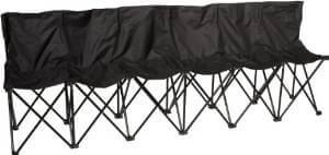 Precision 6 Seater Folding Subs Bench TR329