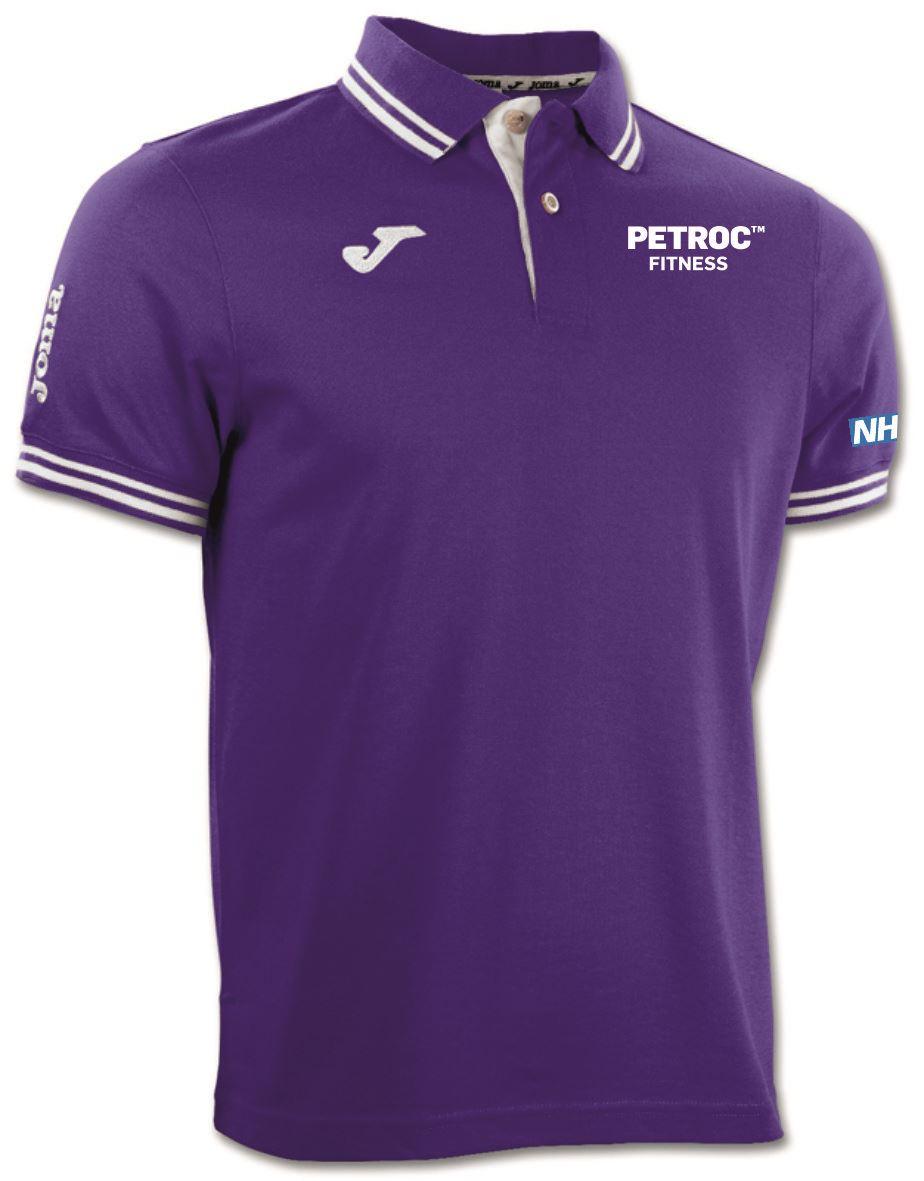 Petroc Exercise Referral Polo Shirt - Bali Purple