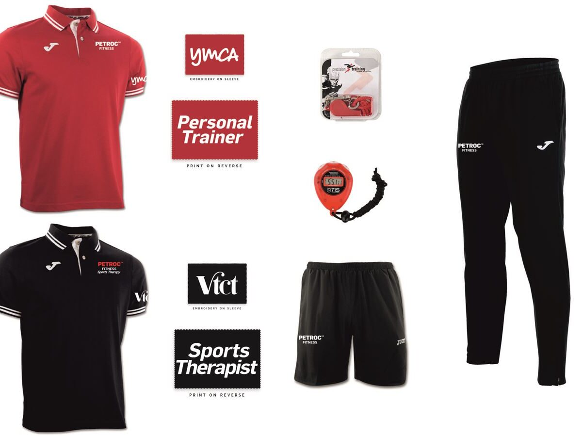 Petroc Level 3 Personal Training Package Set
