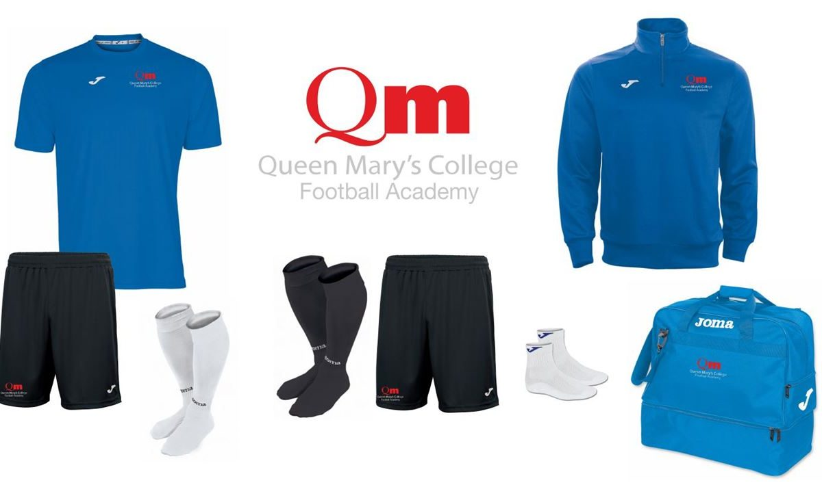 Queen Mary's Football Academy Outfield Player Pack