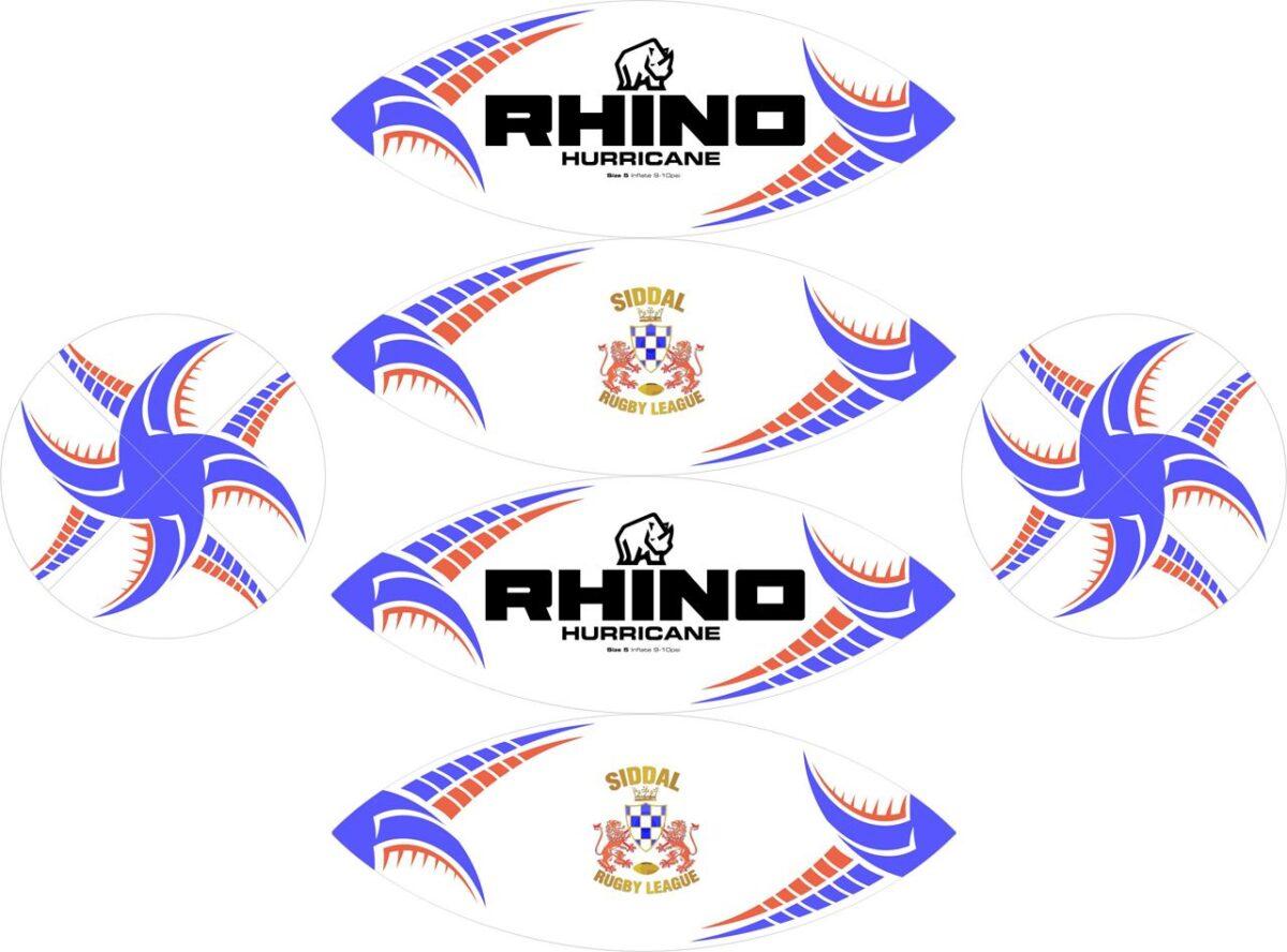 Siddal ARLFC Rhino Ball