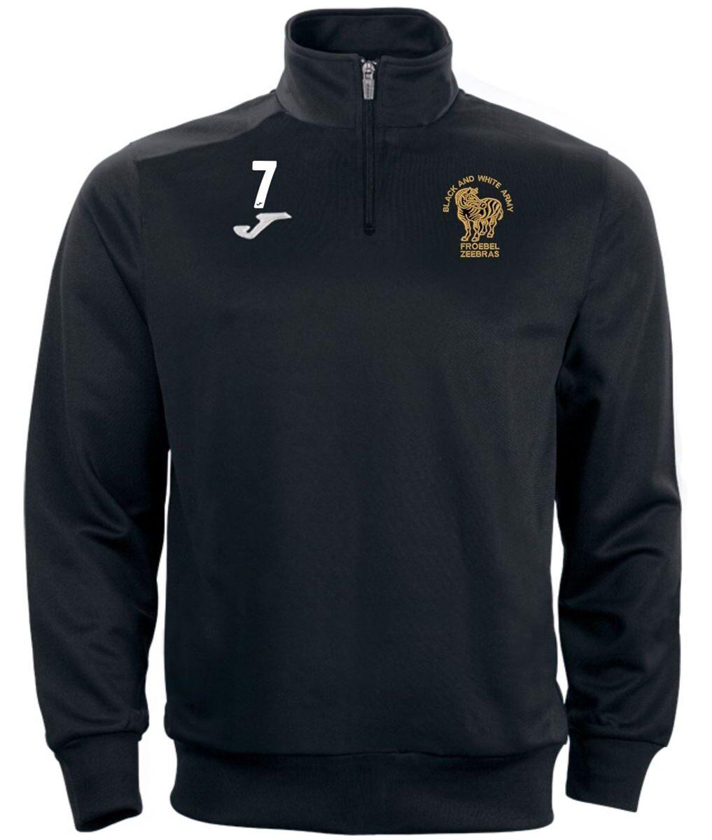 Quarter Zip Top - Froebel Zeebras FC