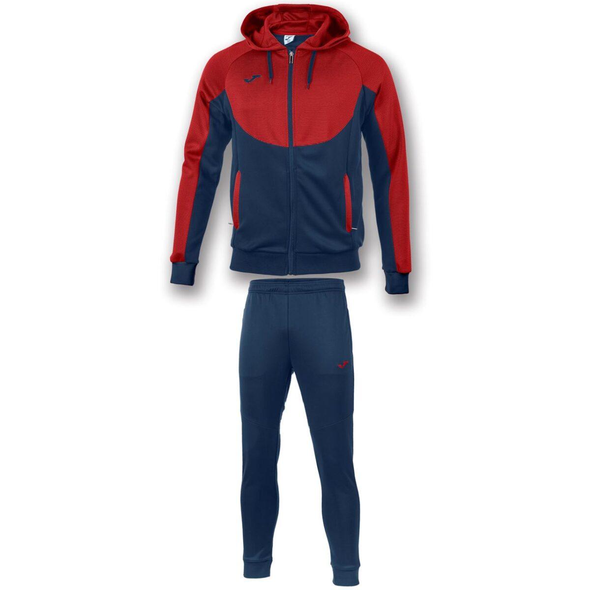Joma Essential Hooded Tracksuit Junior 101019