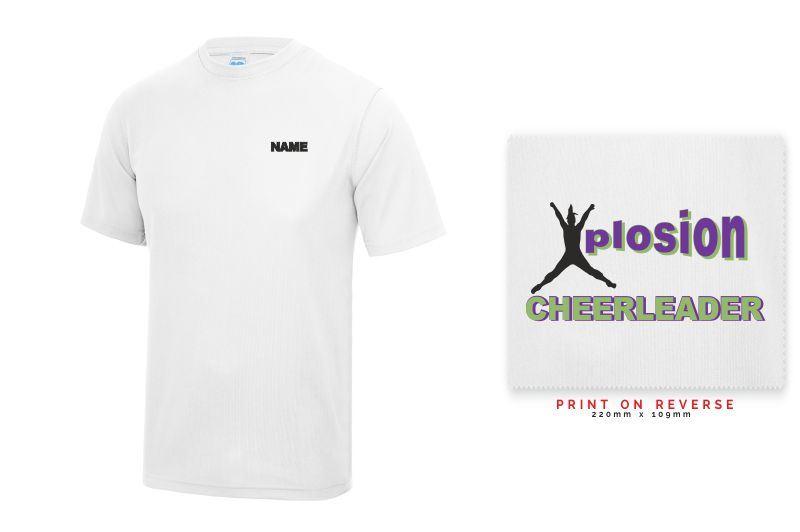 Xplosion White AWDIS T Shirt - JC01J