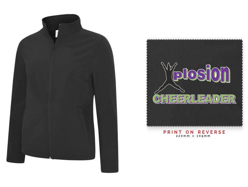 Xplosion Full Zip Female Softshell Jacket UC613