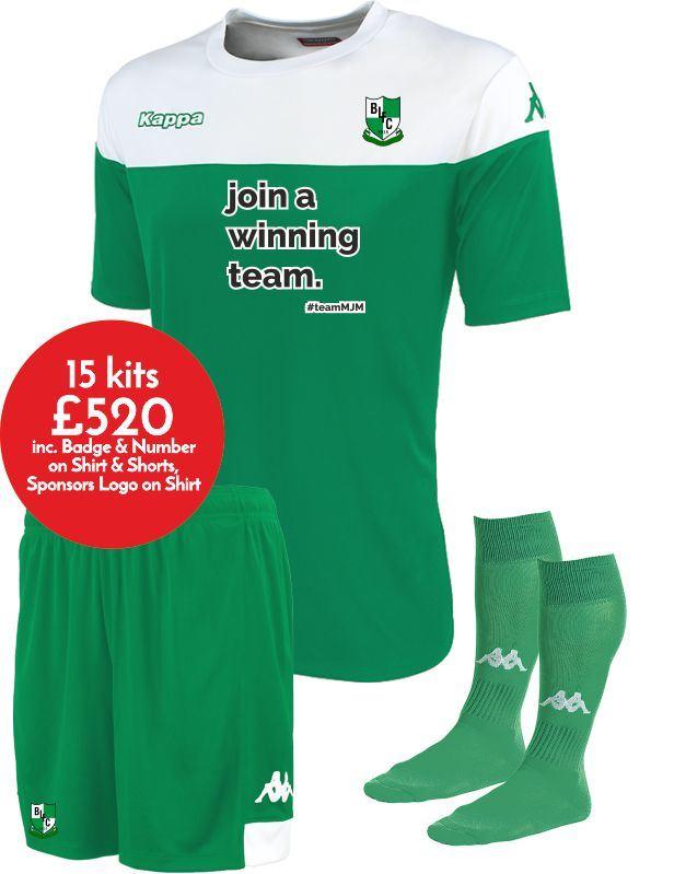 Blackfield & Langley FC Home Match Kit