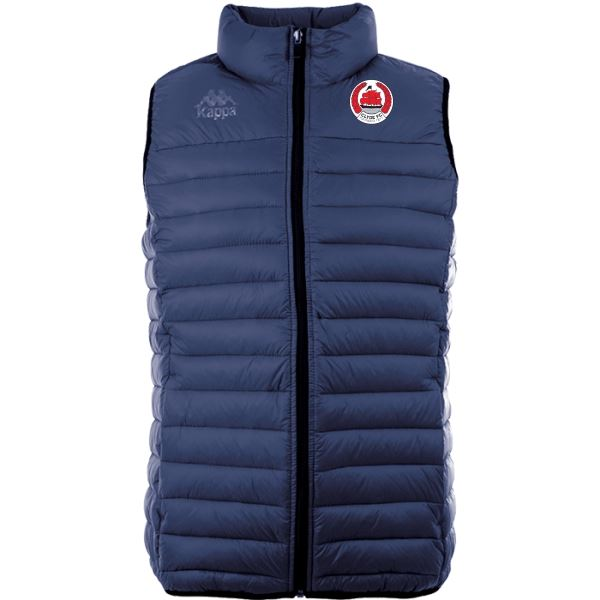 Clyde FC Drezzo Sleeveless Padded Jacket
