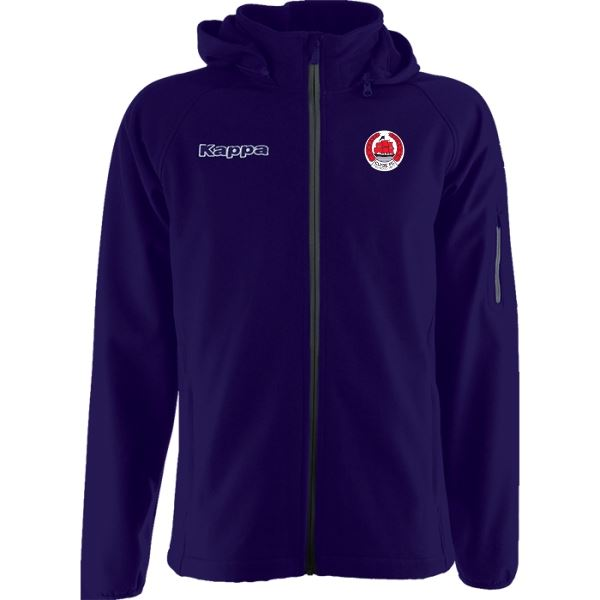 Clyde FC Valas Softshell Jacket - 302DS00