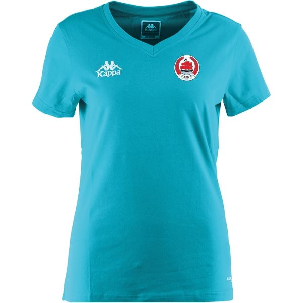 Clyde FC Tabbiano Woman T Shirt