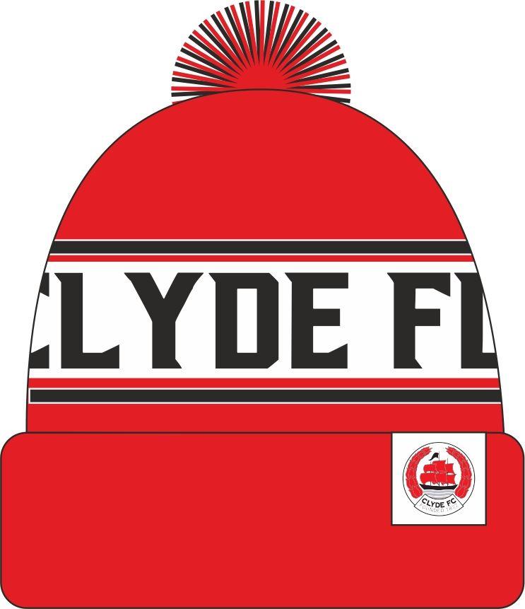 Clyde FC Bobble Hat