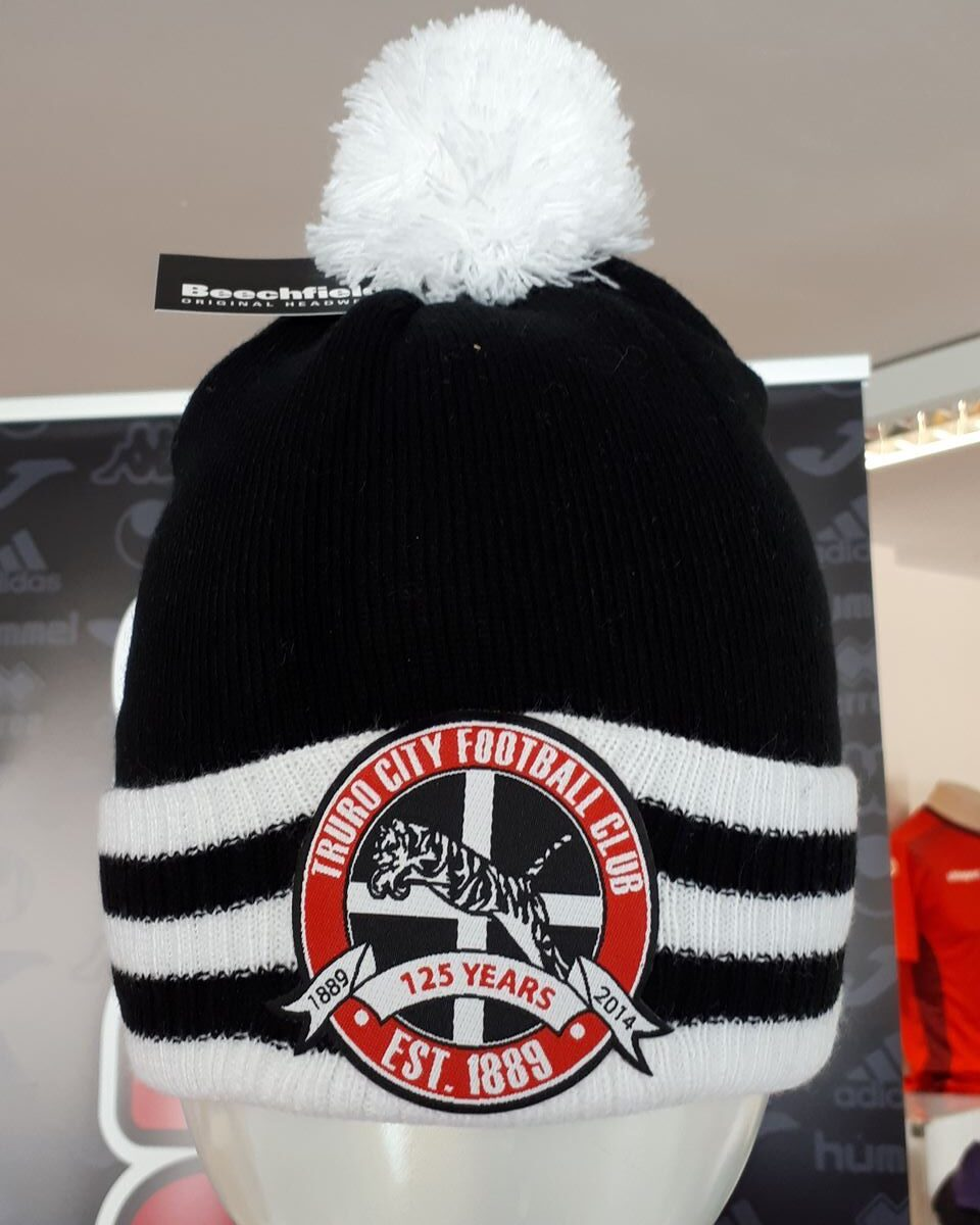 Truro City Bobble Hats - One Size