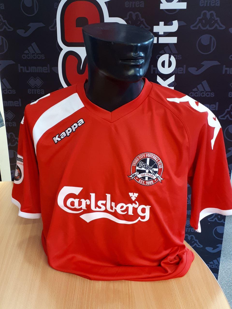 Truro City FC JUNIOR Replica Red Kappa Shirt