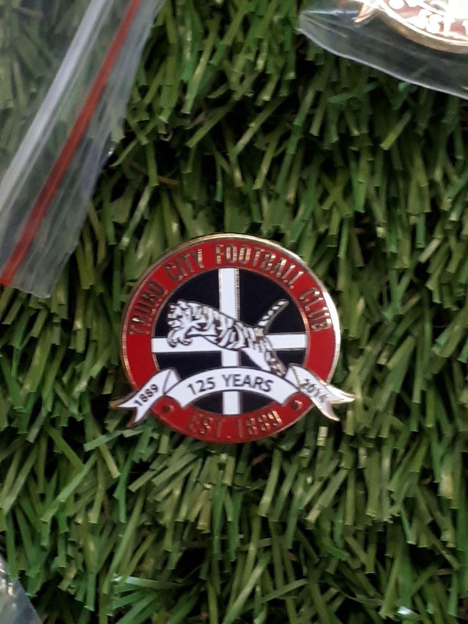Truro City FC Pin Badge