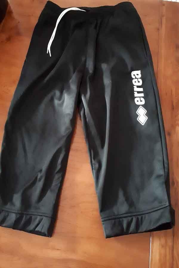 Truro City FC Errea Black Long Shorts
