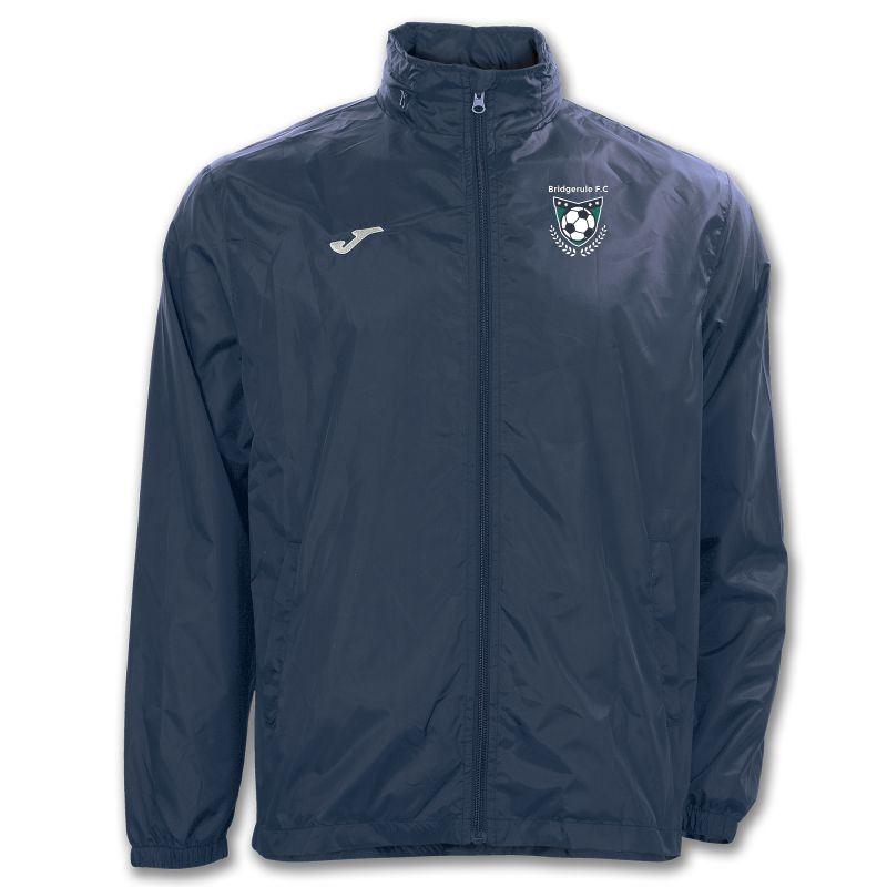 Bridgerule FC Rain Jacket - Joma Iris Navy - ADULT