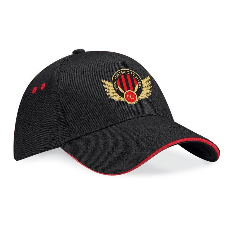 Winchester Flyers Black Baseball Cap