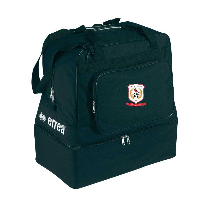 Chard Town FC Basic Kit Bag Black
