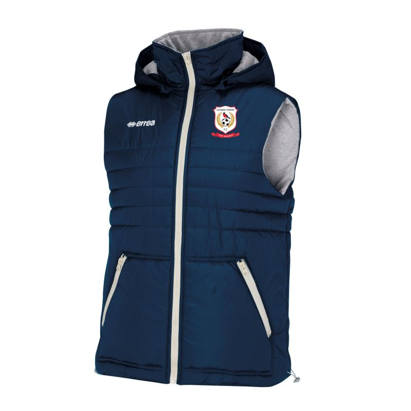 Chard Town FC Hybrid Jacket - Gilet - ADULT