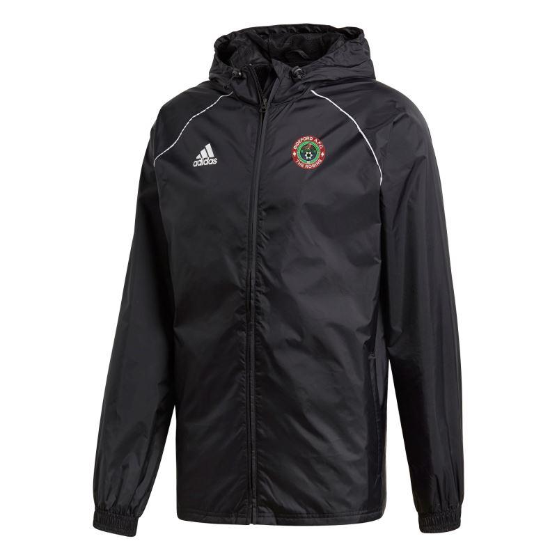 Bideford AFC Adidas Core 18 Rain Jacket CE9048 - ADULT