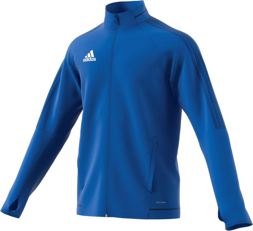 Adidas Tiro 17 Training Jacket - Adult BQ2735 - Blue/Collegiate Navy/White