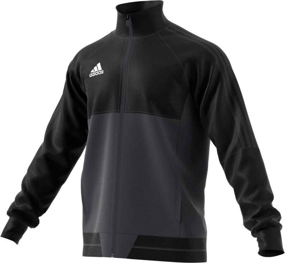 Adidas Tiro 17 PES Jacket - Adult - Black/White