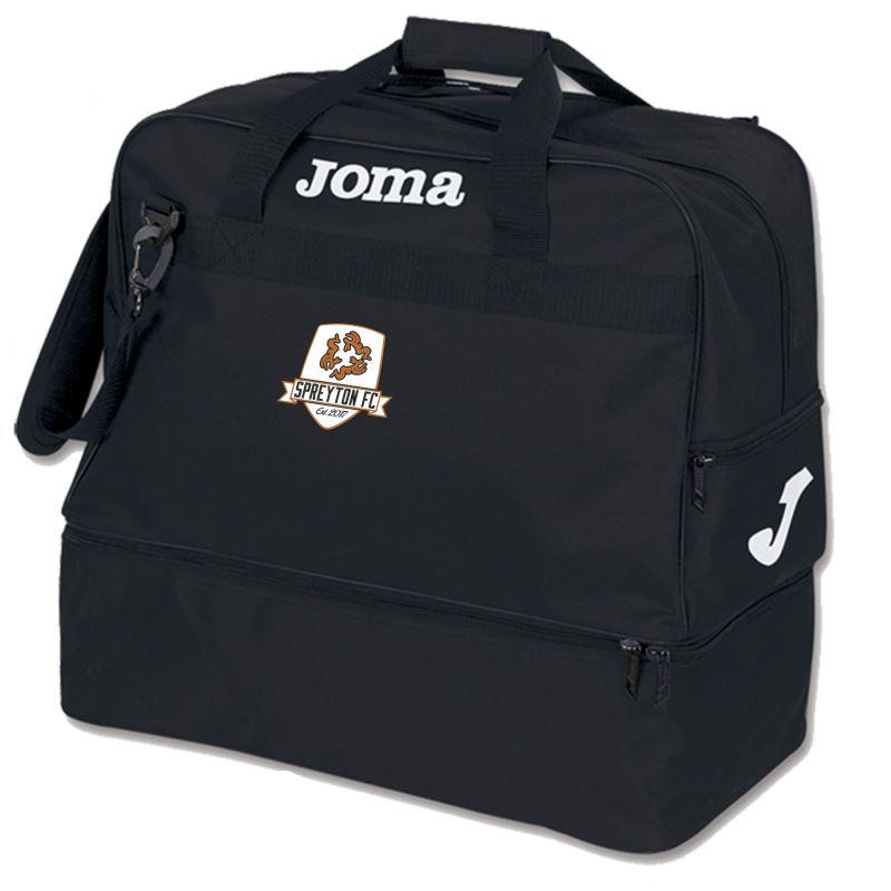 Spreyton FC Kit Bag - Black