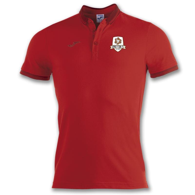 Spreyton FC Polo Shirt Bali II Red